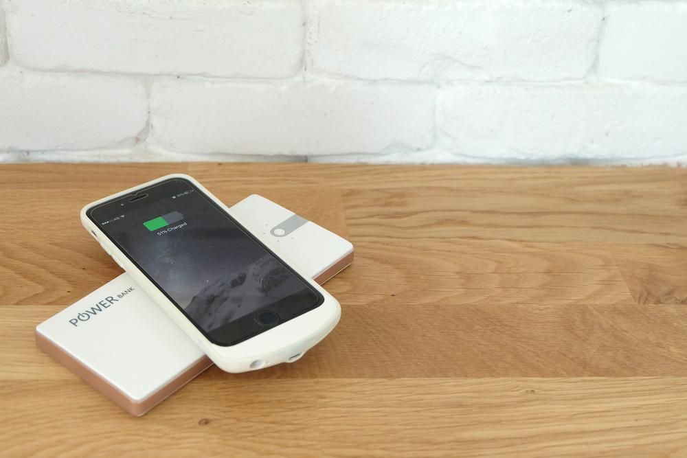 Mobiel opladen zonder stroom