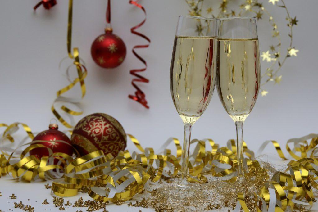 Nieuwjaar social media