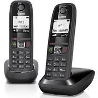 Gigaset AS405 - Duo DECT telefoon - Zwart