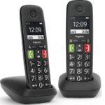 7. Gigaset E290E - Duo Senioren DECT telefoon